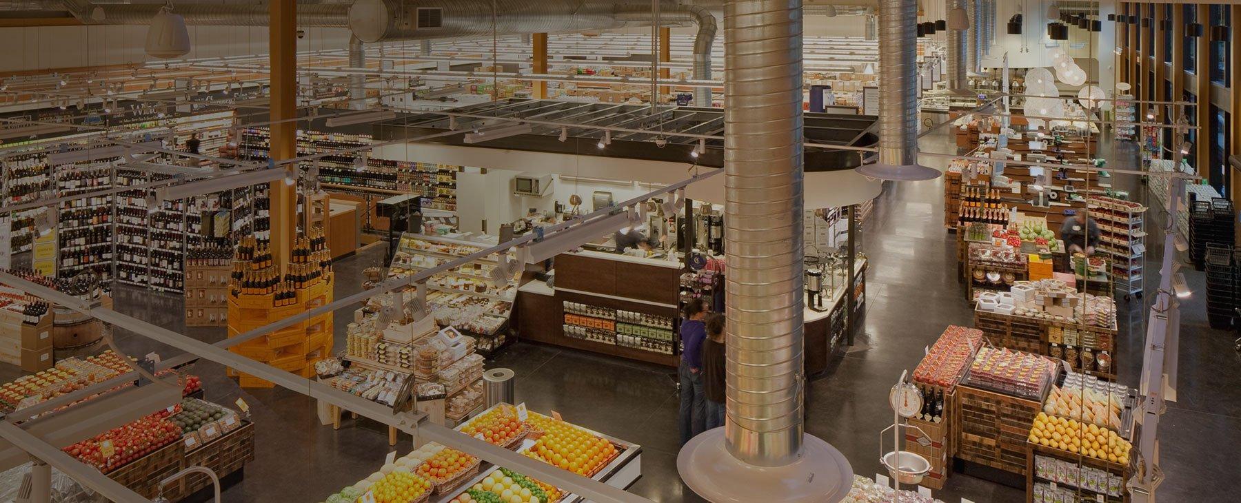 Supermarket fixture planning