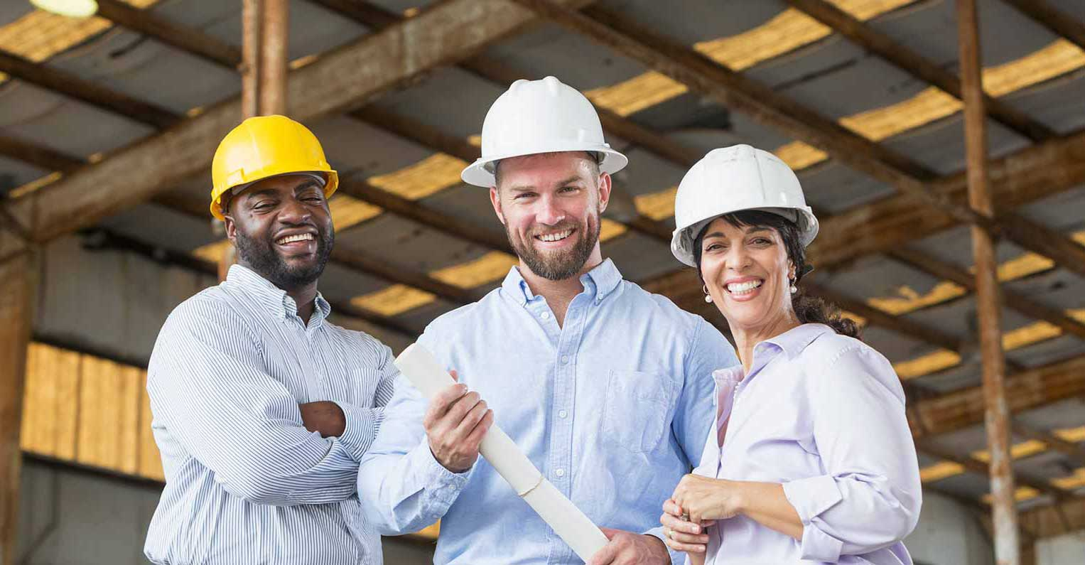 Picture of people happy about their better building control systems