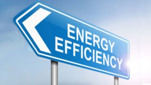 Sign for energy efficiency